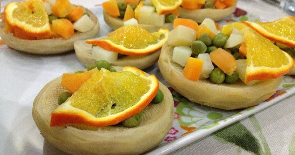 Portakallı Enginar Dolması